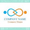 人,繋がり,協調,仲良しをイメージしたロゴマークデザインです。