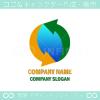 地球,グローバル,貿易,ビジネスのロゴマークデザインです。