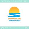 日出,海,S文字,太陽をイメージしたロゴマークデザインです。