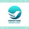 鳥,幸運,バードのシンボルマークのロゴマークデザインです。
