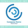 C文字,レンズのイメージのロゴマークデザインです。