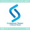 S文字,上昇をイメージしたロゴマークデザインです。