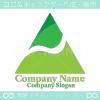 山,矢,上昇をモチーフにしたロゴマークデザインです。