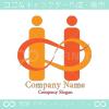 I文字,愛,無限大,∞をイメージしたロゴマークデザインです。