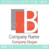 Bアルファベット、B文字がモチーフのロゴマークデザインです。