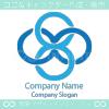 インフィニティー、数字8がモチーフのロゴマークデザインです。