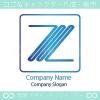 Z文字のモチーフのロゴマークデザインです。