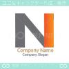 N文字、強いがモチーフのロゴマークデザインです。