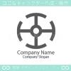 O文字、技術をイメージしたロゴマークデザインです。