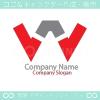 W文字、アトラクションをイメージしたロゴマークデザインです。