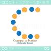 C文字、ドットをイメージしたロゴマークデザインです。