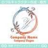アルファベットY,リース,植物,自然のロゴマークデザインです。