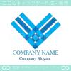 勝利のV,アルファベットVをイメージしたロゴマークデザインです。