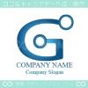 技術,アルファベット,Gをイメージしたロゴマークデザインです。
