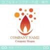 炎,火花,ロウソクイメージしたロゴマークデザインです。