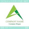 A,アルファベット,山,矢,アローのロゴマークデザインです。