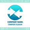 合流,団結,アロー,矢印をイメージしたロゴマークデザインです。