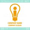 I文字,電球,電気,パワーがイメージのロゴマークデザインです。