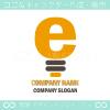太陽,電球,文字?のイメージのロゴマークデザインです。