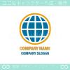 地球,太陽光,グローバル,ビジネスのイメージのロゴマークデザイン