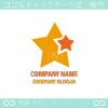 星,スター,親子をイメージしたロゴマークデザインです。