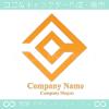 アルファベットC,ダイヤモンドをイメージしたロゴマークデザイン