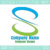 S文字,風,緑のイメージのロゴマークデザインです。