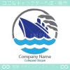 舟、航海のシンボルマークのロゴマークデザインです。