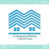 住宅、不動産のシンボルマークのロゴマークデザインです。