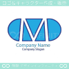 M文字、薬がモチーフのロゴマークデザインです。
