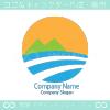 山、道をイメージしたロゴマークデザインです。