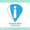 I文字、ドロップがモチーフのロゴマークデザインです。