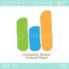 W文字と山のシンボルマークのロゴマークデザインです。