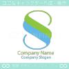 幸運とS文字と自然をイメージしたロゴマークデザインです。