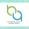 A文字とB文字と無限大をイメージしたロゴマークデザインです。