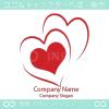 ハートで愛をイメージしたロゴマークデザインです。