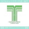 T文字と上昇がモチーフのロゴマークデザインです。