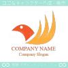 火の鳥,鳥,不死身,フェニックスをイメージしたロゴマークデザイン
