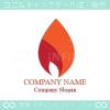 火,ファイヤー,炎,強さをイメージしたロゴマークデザインです。