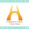 アルファベット,H,橋,陸橋をイメージしたロゴマークデザインです。