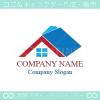 家,本,マイホームをイメージしたロゴマークデザインです。