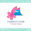 桜,さくら,富士山,自然をイメージしたロゴマークデザインです。