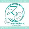 文字Z,太陽,波,豪華をイメージしたロゴマークデザインです。