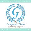 G文字,クラシック,青,最高クラス,一流のロゴマークデザインです。