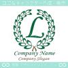 文字L,クラシック,緑,最高クラス,一流のロゴマークデザインです。