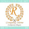 R文字,クラシック,黄色,最高クラス,一流のロゴマークデザイン