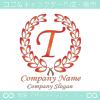 T文字,クラシック,最高クラス,一流のロゴマークデザインです。