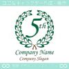 5周年記念,アニバーサリー,祝い,イベント,誕生,ロゴマークデザイン