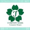 I文字,桜,さくら,フラワー,花のイメージのロゴマークデザイン