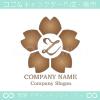 文字Z,さくら,フラワー,桜,花のイメージのロゴマークデザインです。